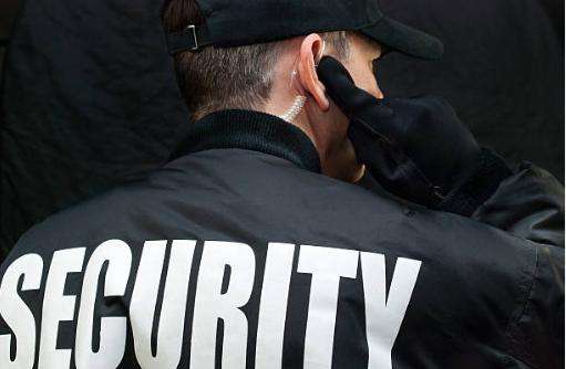 sikkerhedsvagt og dørmand til den fest eller begivenhed